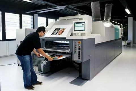 Работа оператора цифровой печати
