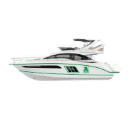 Оклейка пленкой катера, яхту, цена