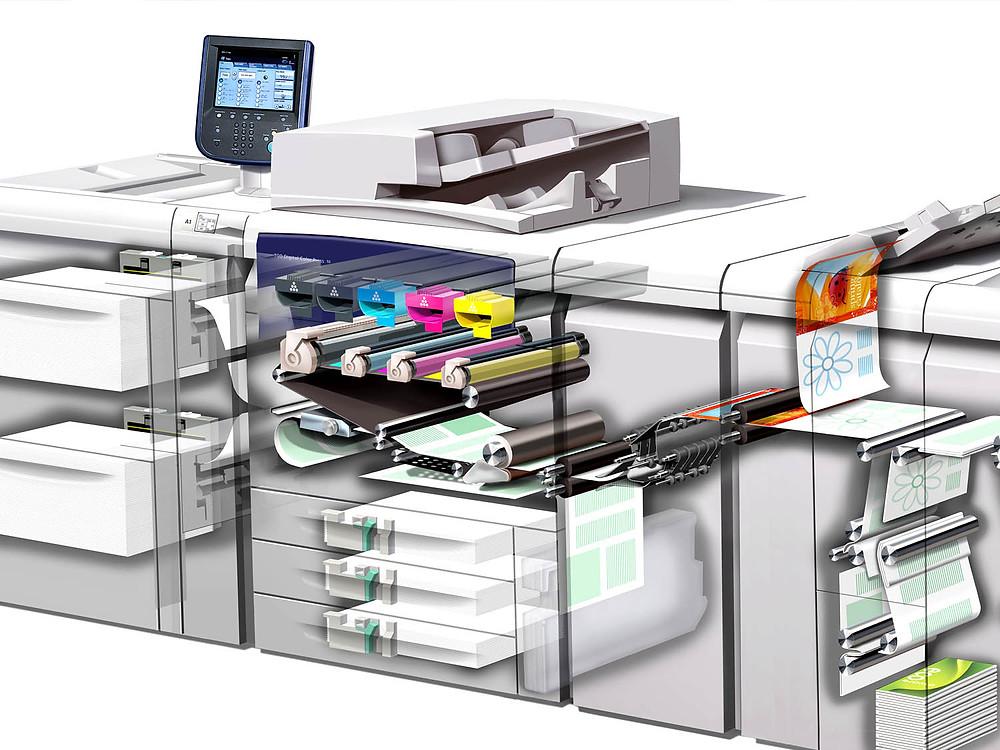 цифровая печать полиграфии