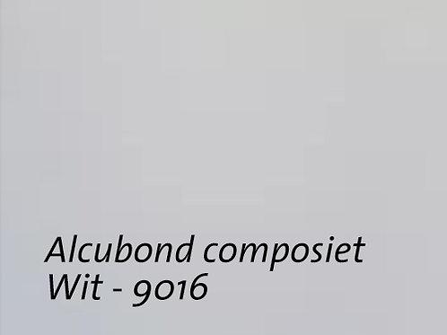 Aluminium composiet plaat van Alucobond Wit
