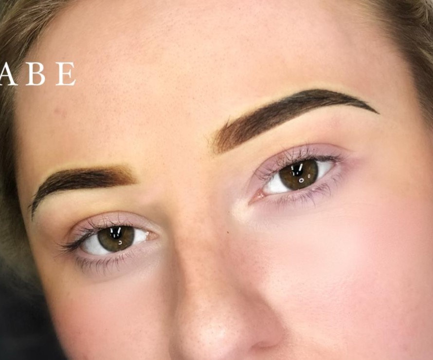 COVID Phased Ombré Eyebrows