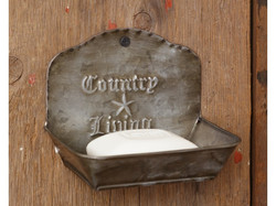 Country Living Soap Dish