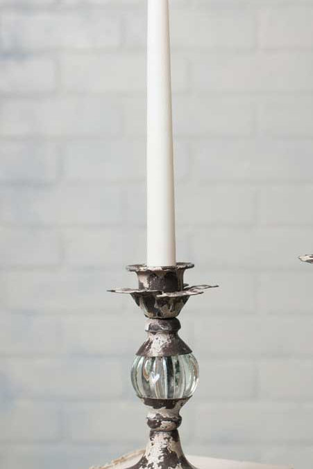 Tall Flower Petal Candle Stick