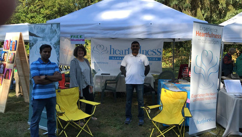 Heartfulness Booth