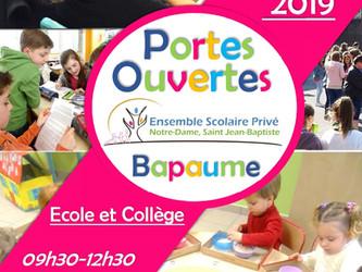 Portes Ouvertes de L'Ensemble Scolaire 16/03/2019