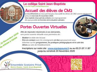 Accueil CM2 25/11/2020