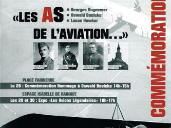 """Œuvres pour l'exposition des """"As de L'Aviation"""""""