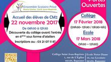 Accueil des CM2 le 22/11/2017