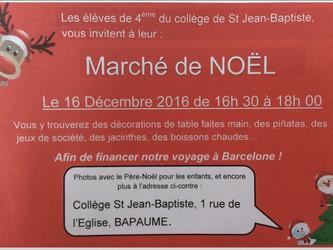 Marché de Noël 16/12/2016