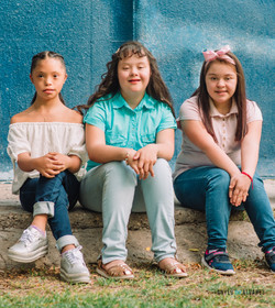 Daniela, Ma. José y Cynthia