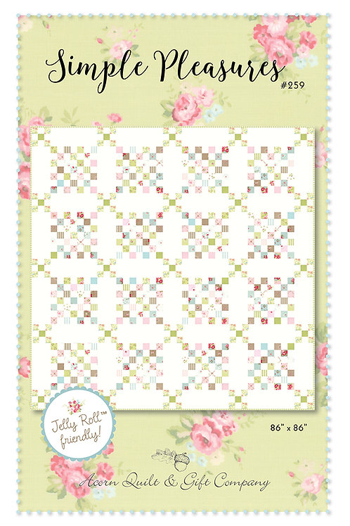 Simple Pleasures pattern - Brenda Riddle
