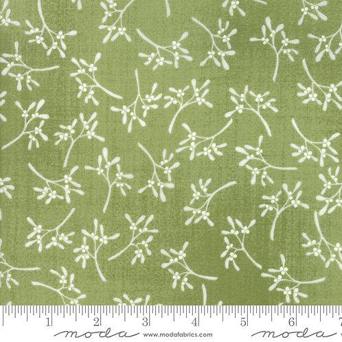 Wintertide: Mistletoe (Green) - Janet Clare