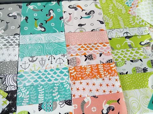 Fish Tales Charm pack - Annie Brady (Moda Fabrics)