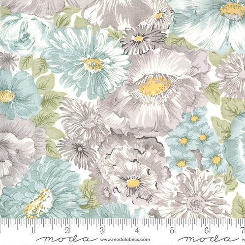 Sanctuary: Flourish (Zen grey) - 3 Sisters (Moda Fabrics)