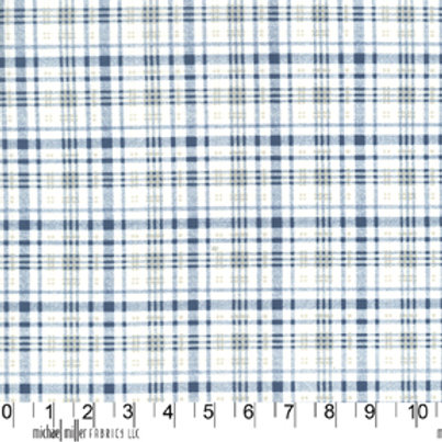Indigo Blue: Mad about Plaid - Michael Miller