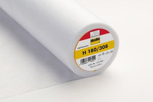 Vilene Iron on Interfacing H180/308 - light weight (white)