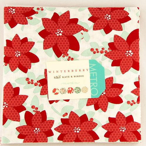Winterberry Layer Cake - Kate & Birdie (Moda Fabrics)