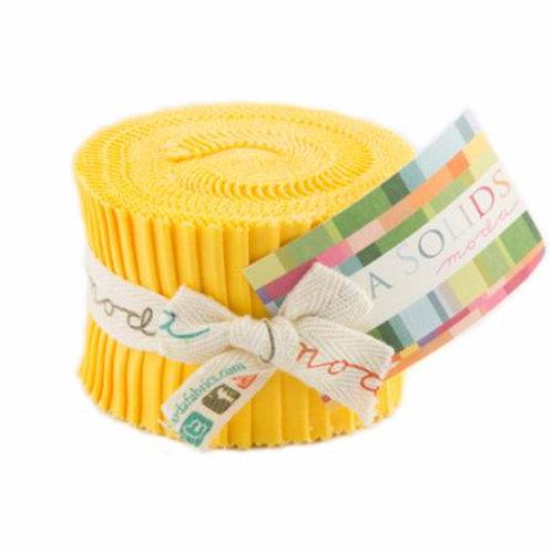Junior Jelly roll - 30s Yellow