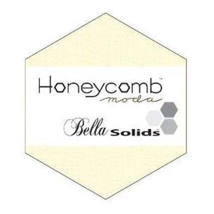 "Moda Bella Solids 6"" Honeycomb - Snow"