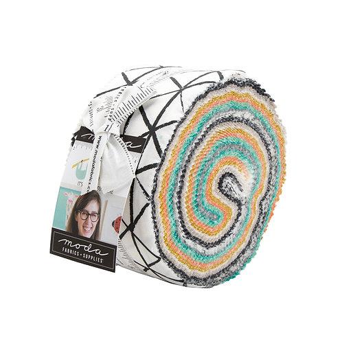 Zoology Jelly roll - Gingiber (Moda Fabrics)