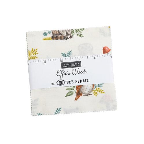 Effie's Woods Charm pack - Deb Strain (Moda Fabrics)