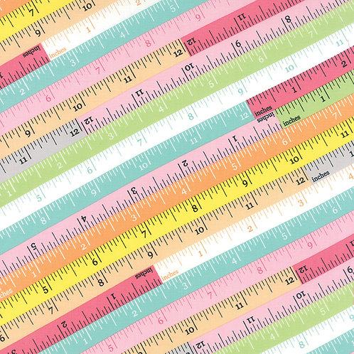 Sew and Sew Measuring Tape No. 33182 17 - Chloe's Closet (Moda Fabrics)