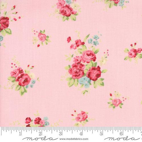 Caroline: Floral (Bloom pink) - Brenda Riddle Acorn Quilting Co