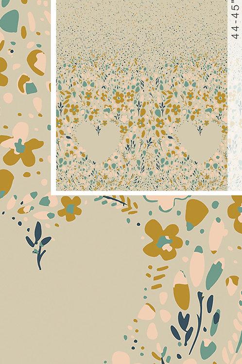 Garden Dreamer Love Garden Calm (Panel) - Maureen Cracknell