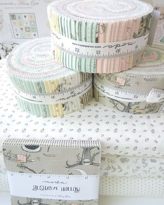 Fresh, pretty sewing supplies for making cot quilts, nursery bunting, clothes for little ones and more