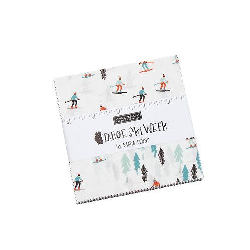 Tahoe Ski Week Charm pack - Mara Penny / Moda Fabrics