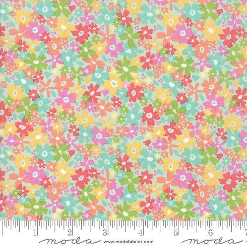 Sunnyside Up: Tiny flowers (Gossamer)  - Corey Yoder (Moda Fabrics)