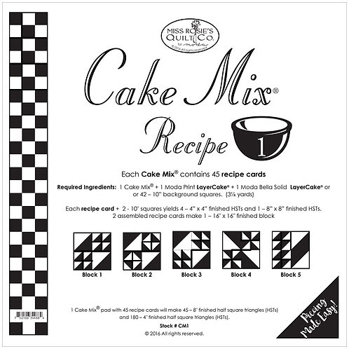 Foundation paper - Cake Mix 1