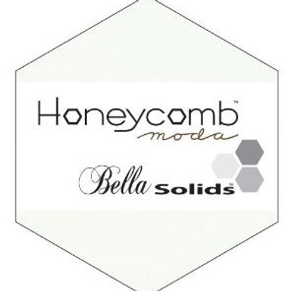 "Moda Bella Solids 6"" Honeycomb - White"