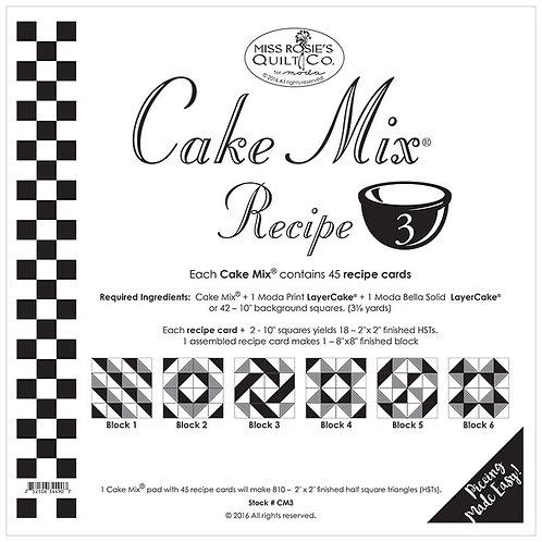 Foundation paper - Cake Mix 3