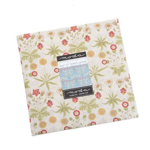 Best of Morris Spring Layer cake - Moda Fabric