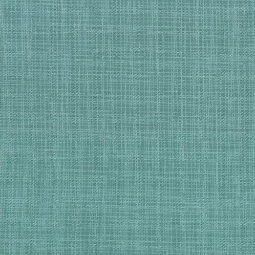 Bluebird Park (Teal) - Linen effect print