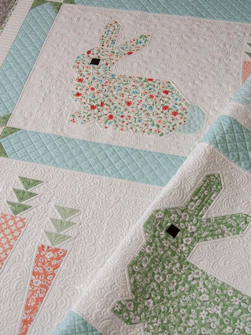 Cottontail Quilt kit by Lella Boutique