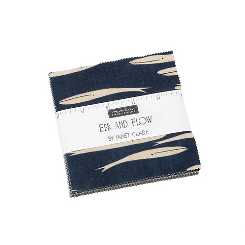 Ebb & Flow  Charm pack - Janet Clare