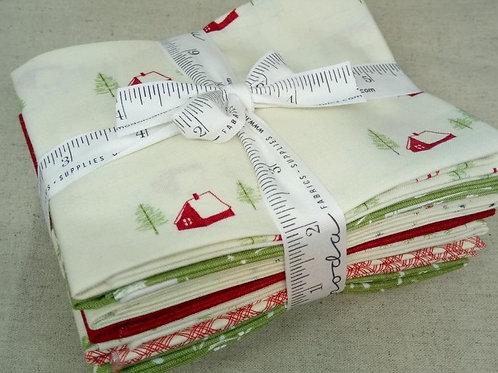Wintertide FQ bundle - Janet Clare (Moda Fabric)