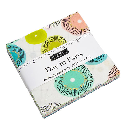Day in Paris Charm pack - Zen Chic