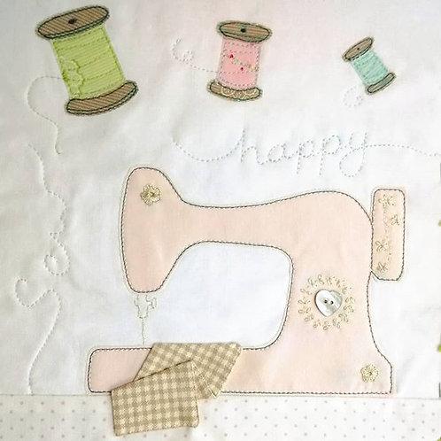 "Sweetest Things Sampler - Block 12  kit  - ""Sew happy"""