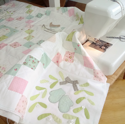 Completing the quilt