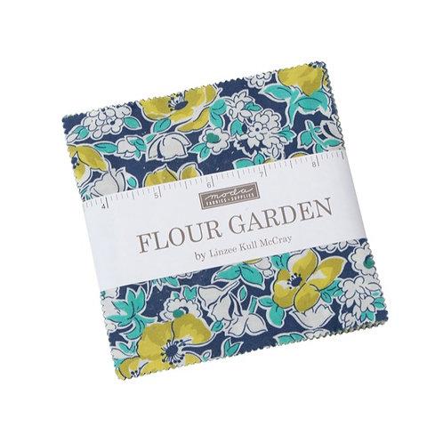 Flour Garden Charm pack - Linzee Kull McCray