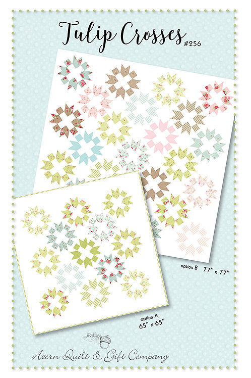 Tulip Crosses pattern - Brenda Riddle