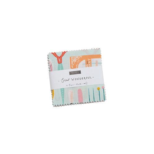 Sew Wonderful Mini-Charm - Paper & Cloth / Moda Fabrics