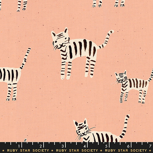 Darlings: Tiger stripes in Warm Pink - Ruby Star Society