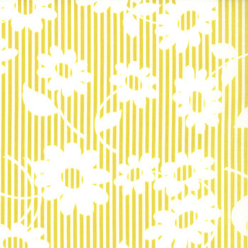 Hullabaloo: Daisy stripe (Citrus) - Urban Chiks