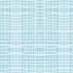 InPrint: Stitch check - Blue - Jane Makower Fabric