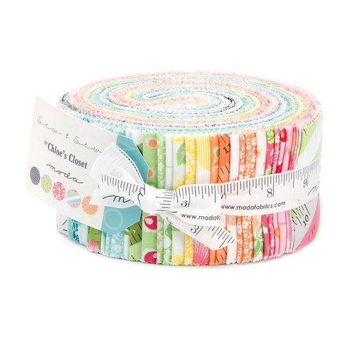 Sew & Sew jelly roll - Chloe's closet