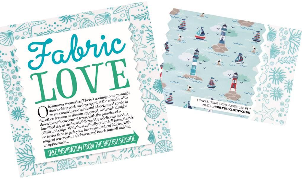 Lewis & Irene Coastal fabric